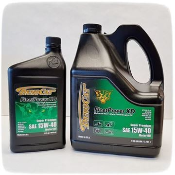 Picture of Oil Dynocat 15W-40 Fleetpower XD 1qt. api cj-4/ci-