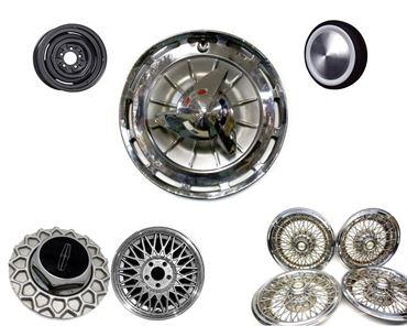 Bilde for kategori Felger, dekk og hjulkapsler