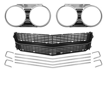 Picture for category Grille, bezels, headlight door and related